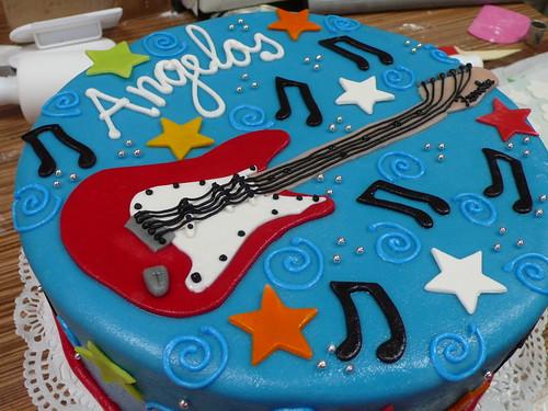Fender Stratocraster Guitar Cake 2
