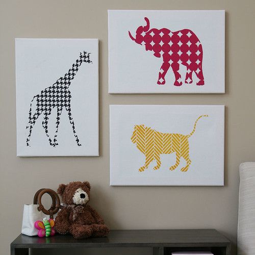 Animal Prints Room View