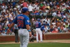 new Cubs to Coach (mikepix) Tags: chicago baseball cleveland indians cubs wrigleyfield 2009 bullpinbox