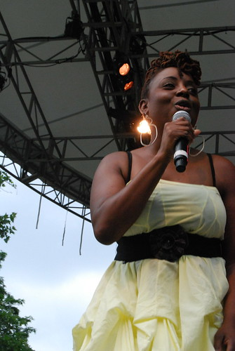 Ledisi at SummerStage 6.28.09
