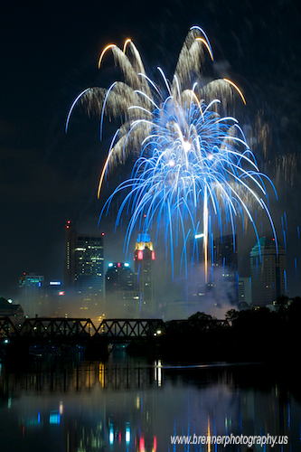 Fireworks.  Red, White and BOOM! 2009