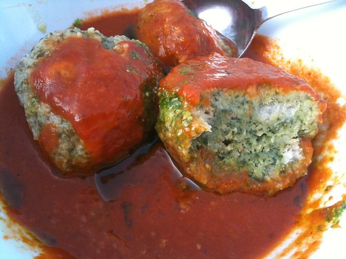 Spinach Knodel