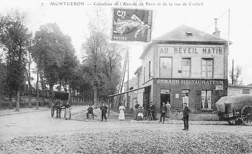 Au Reveil Matin, the cafe in Montgeron where the first Tour started in 1903. Photo: Offside/L'Equipe