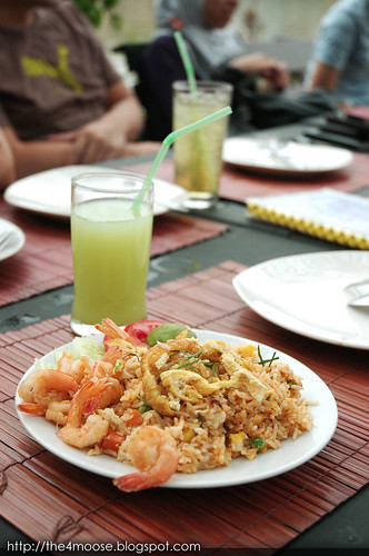 Baan Kun Pra - Green Curry Fried Rice