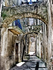 archi (Peter Armìe) Tags: italy architecture landscape nikon paint medieval explore medievale puglia flick hdr gargano theunforgettablepictures flickrawardgallery