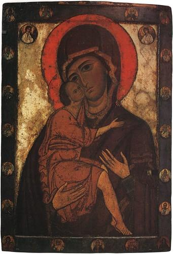 006- La virgen de Belozerskaya- pintada por Belozersk siglo XIII