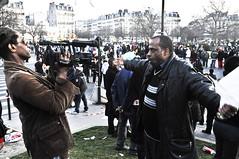 2009-02-28_rassemblement de soutien  Paris pour les Antilles (aalek) Tags: les de  nation le pour franais dans contre mouvement antilles grve gouvernement rassemblement bpbo soutenir