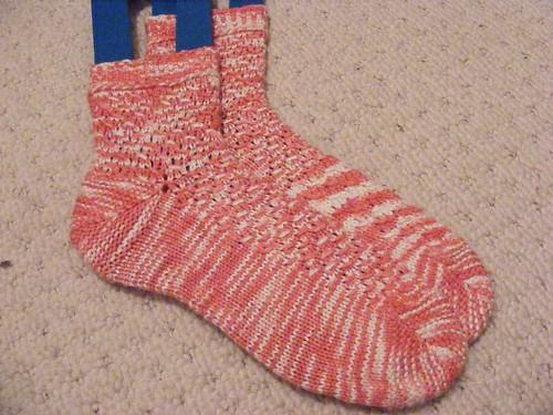 Om Shanti socks