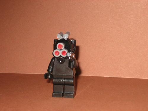 spy custom minifig