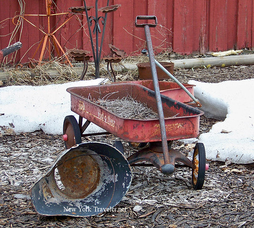 Salvage Radio Flyer