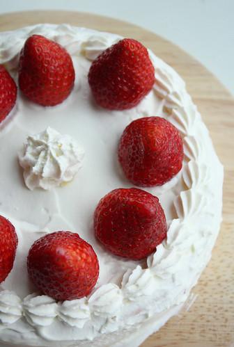 Strawberry Cake Japonais Recette
