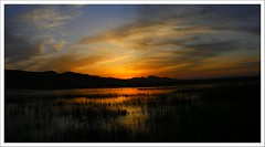 Sunset at Kalar Kahar (Emran Ashraf) Tags: pakistan sunset lake islamabad kalarkahar memorialpower imranashraf vosplusbellesphotos emranashraf