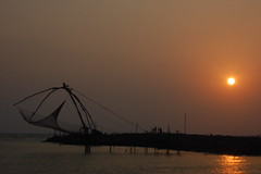 munambam beach (dpk.) Tags: beach nikon cherai chinesefishingnets dpk d40 munambam deepakab pulimuttu