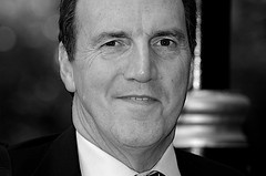Simon Hughes MP in black and white (Steve Punter) Tags: uk blackandwhite politics parliament mp southwark liberaldemocrats simonhughes