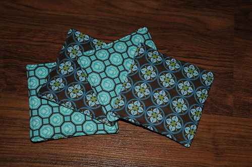 Reversible Fabric Coasters