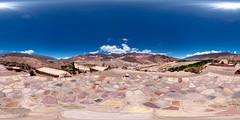 Pucara de Tilcara Viewpoint (Garret Veley) Tags: panorama argentina museum landscape desert canon5d stitched 360x180 ptgui equirectangular canon15mm nodalninja3 garretveley
