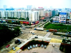 Shunde Foshan tiltshift (leedixon) Tags: china hotel miniature fake shift crossroad tilt fortuna miniatura foshan tiltshift shunde