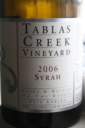 tablas creek syrah