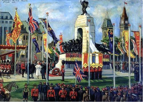 Unveiling_War_Memorial_Royal_Visit_Ottawa_1939_MargaretFultonFrame