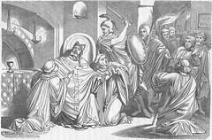 Katakomben: Martertod des hl. Papstes Stephan I. (A.D. 257)