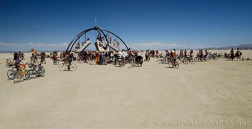 Burning Man Festival 2003 Temple of Gravity