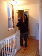 Moving mantel