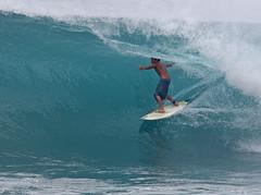 Sheldon Westside 3 (sgblyth) Tags: ocean beach hawaii surf waves tube tubes barrel wave surfing westside sheldon