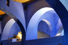 Arches Portmeirion (Lazenby43) Tags: blue wales arch bricks portmeirion prisoner