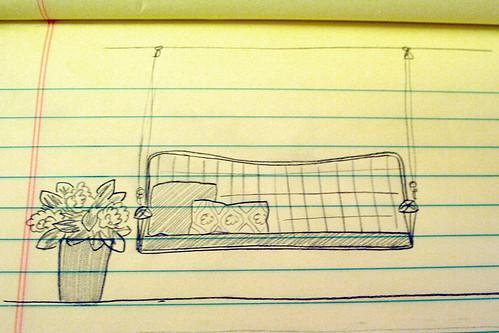 Porch Swing Sketch