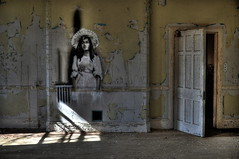 Req - Angel (Romany WG) Tags: abandoned beautiful angel hospital peeling paint decay asylum derelict hellingly req hauntingly