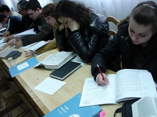 "Seminarul ""Cum sa studiem Biblia"""