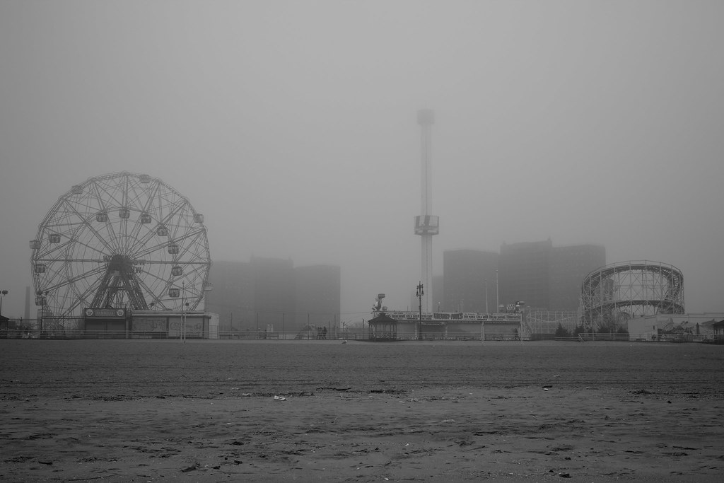A Beautiful Day in Coney Island