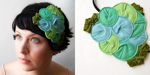 Rosette Fascinator // The Parrotlet