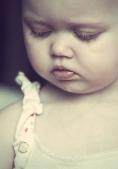 sunshine (Sami Merriman) Tags: baby cute eye love girl sunshine maddie pretty lashes sweet bottom pout lip merriman