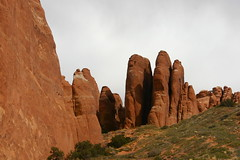 Cool (GreenMandy) Tags: arches delicatearch landscapearch turretarch windowsarches