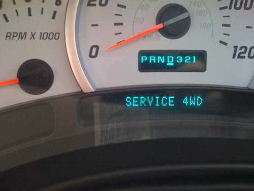 Service 4WD