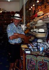 Wayne's Panama Hat - Panama City, Panama (waynedunlap) Tags: city travel hat escape wayne plan your panama now dunlap gurus unhook unhooknow