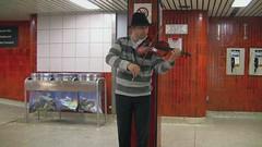 Subway Musician