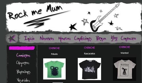 tienda rock me mum