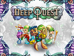deep quest title screen