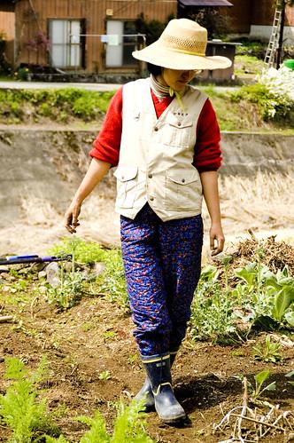 Tomoe in Field