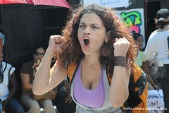 Repro rights protest in the Dominican Republic