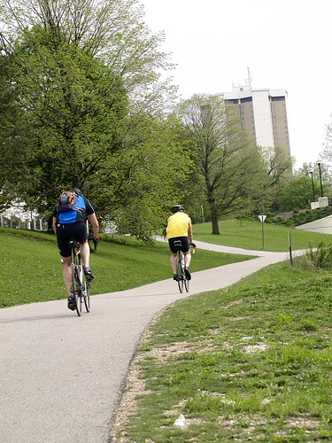 Bike Path leading to Ohio State