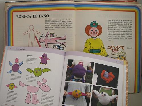 Livros: Boneca de pano