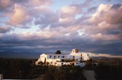 1995-0131 Vinaros Ermita mit Wolken