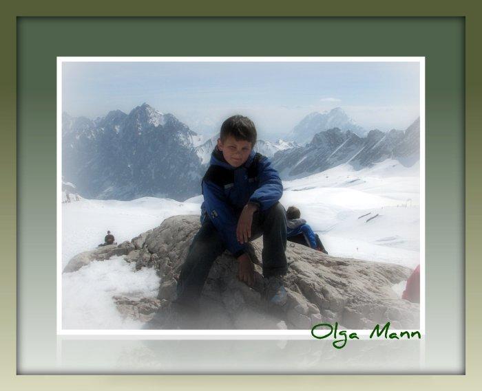 Alex am Zugschpitze