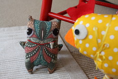 handmade chicken soft toys