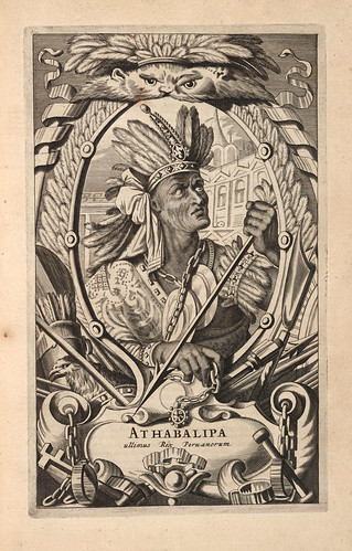 004- Atabalipa rey del Peru 1671