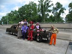 Pimpin (cee emily) Tags: houston artcar artcarparade houstonartcarparade2009
