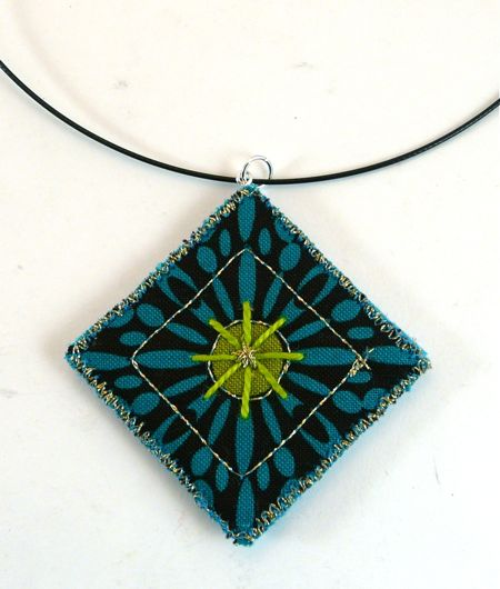 How to Make a Quilted Pendant